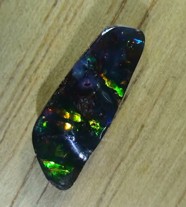 2.15 ct Boulder Opal Gem Multi Color
