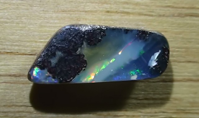 2.80 ct Boulder Opal Rainbow Color