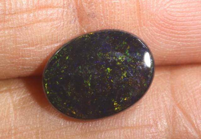 2.25 CTS   N-1   SOLID BLACK OPAL   TBO-6081