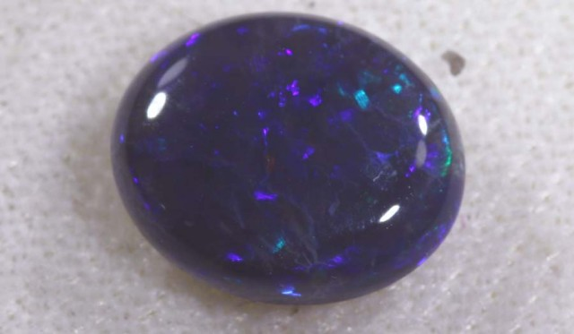 2.85 CTS   N-2   SOLID BLACK OPAL   TBO-6099