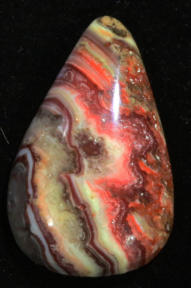 13.8CTS CANDY OPAL-POLISHED FROM UTAH  [VS 7625 ]