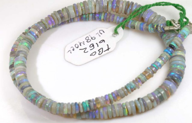 98.4 CTS CRYSTAL OPAL BEADS STRAND TBO-6152