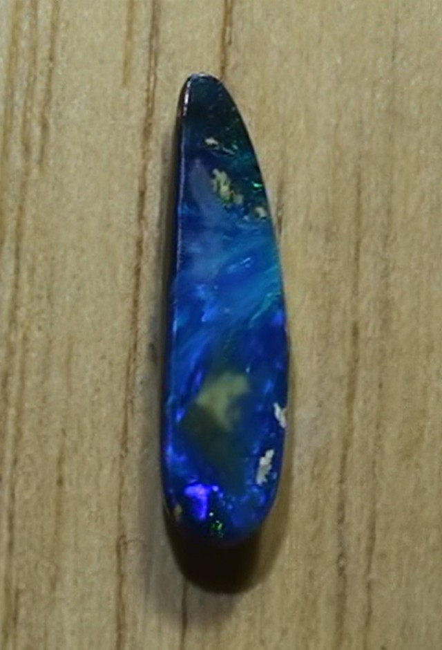 1.70 ct Boulder Opal With Beautiful Blue Color