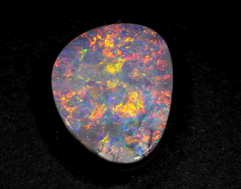BLACK OPAL FROM LR - 3.95 CTS