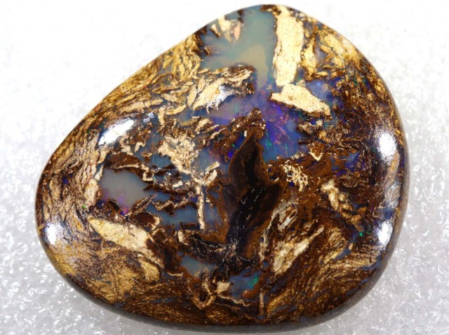 31.40CTS BOULDER WOOD FOSSIL OPAL STONES   NC-4771