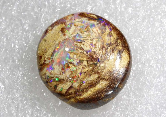 10.2CTS BOULDER WOOD FOSSIL OPAL STONES   NC-4790