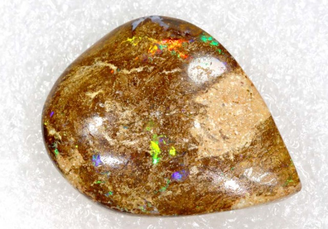 22.9CTS BOULDER WOOD FOSSIL OPAL STONES   NC-4794