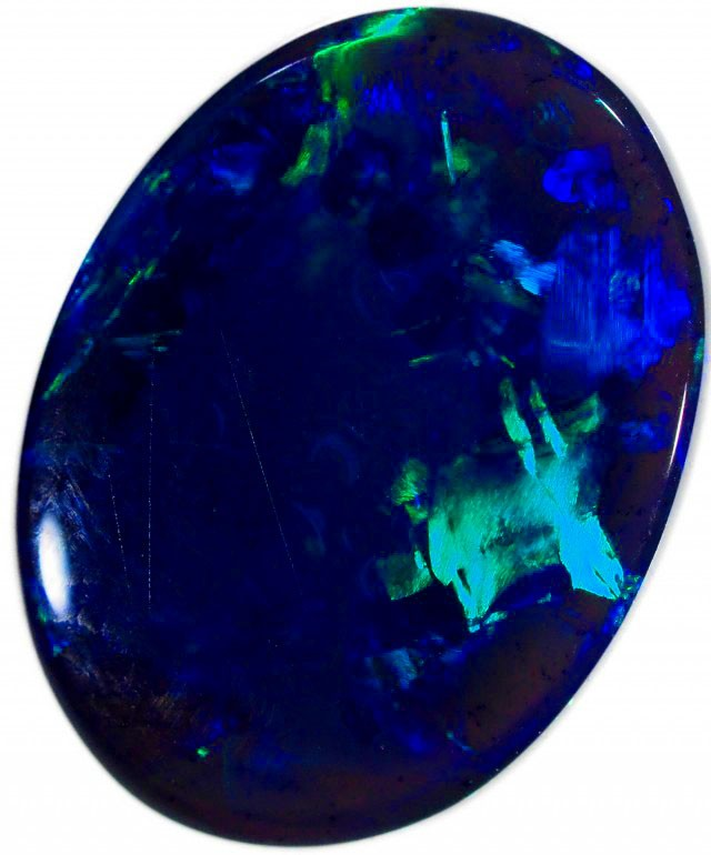 1 CTS BLACK OPAL STONE -WELL POLISHED [BO124]