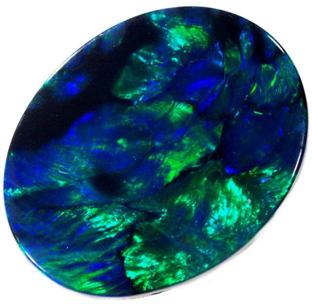 1.65 CTS BLACK OPAL STONE -WELL POLISHED [BO128]
