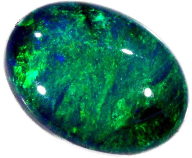 1.05 CTS BLACK OPAL STONE -WELL POLISHED [BO137]