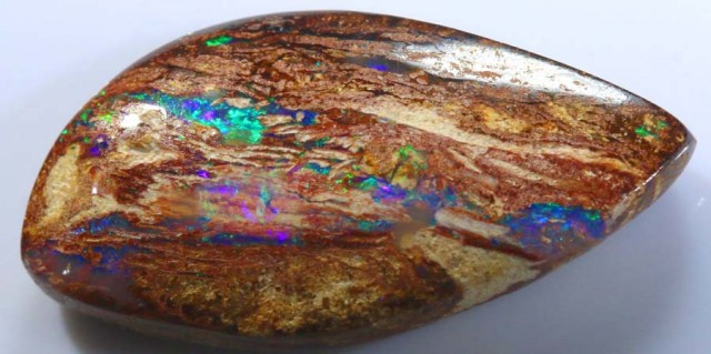 9.9 CTS BOULDER WOOD FOSSIL OPAL STONES   NC-4840