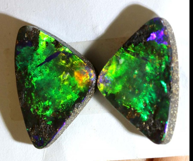 10.8 CTS QUALITY  BOULDER OPAL POLISHED STONE INV-571  GC