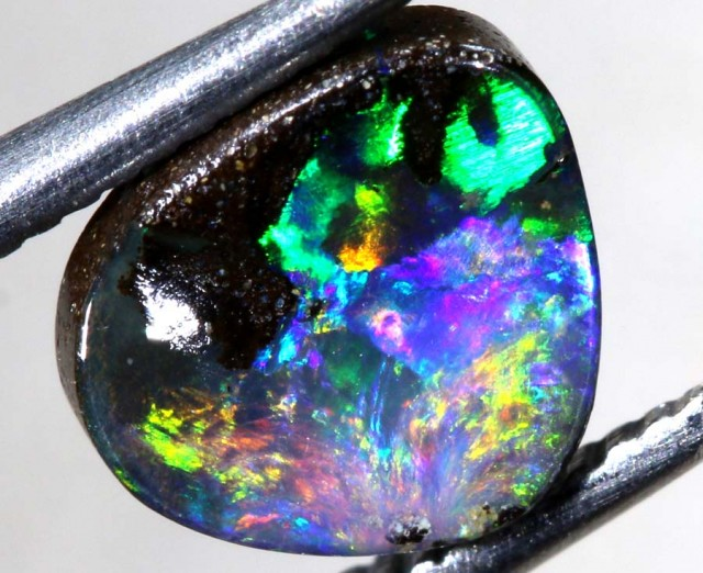 1.2CTS QUALITY  BOULDER OPAL POLISHED STONE INV-591