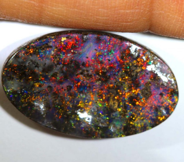 9.39CTS QUALITY  BOULDER OPAL POLISHED STONE INV-606