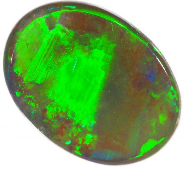 1.4 CTS ELECTRIC GREEN FLASH SEMI BLACK OPAL [SB88]