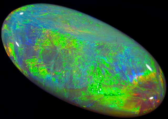 15.2 CTS CRYSTAL OPAL FROM LIGHTNING RIDGE [SC69]
