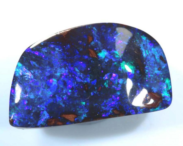 8.7CTS QUALITY  BOULDER OPAL POLISHED STONE INV-624  GC