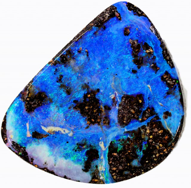 5.85 CTS WELL POLISHED BOULDER OPAL [BMA4345]
