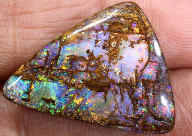 15.75 CTS QUALITY  BOULDER OPAL POLISHED STONE INV-676 GC