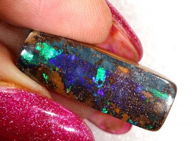 14.5CTS QUALITY  BOULDER OPAL POLISHED STONE INV-707  GC