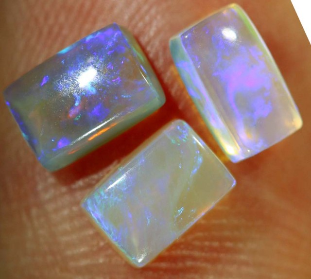 1.40CTS CRYSTAL OPAL PARCEL POLISHED 3PC TBO-6454