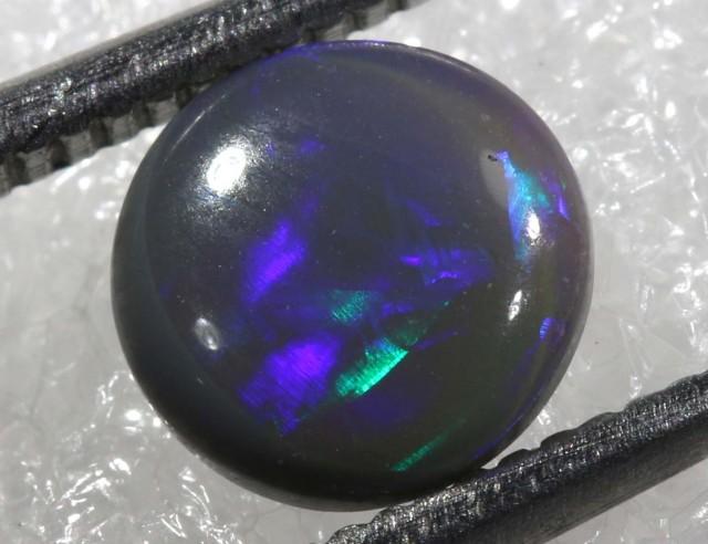 0.60CTS   N1-   SOLID BLACK OPAL   TBO-6518
