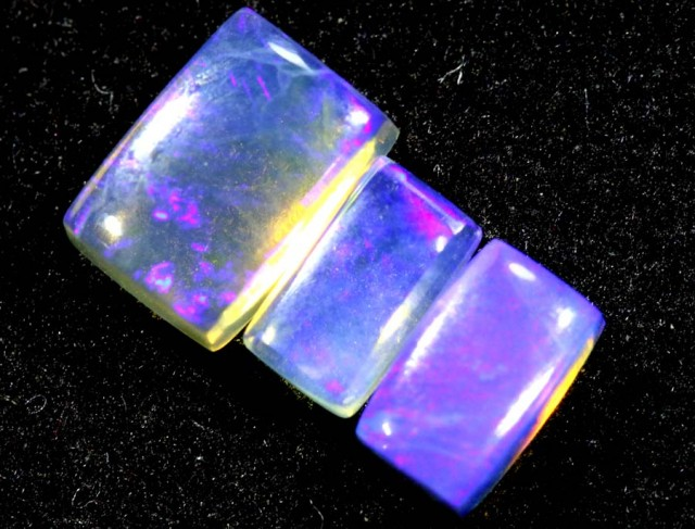 1.20CTS CRYSTAL OPAL PARCEL POLISHED 3PC TBO-6543