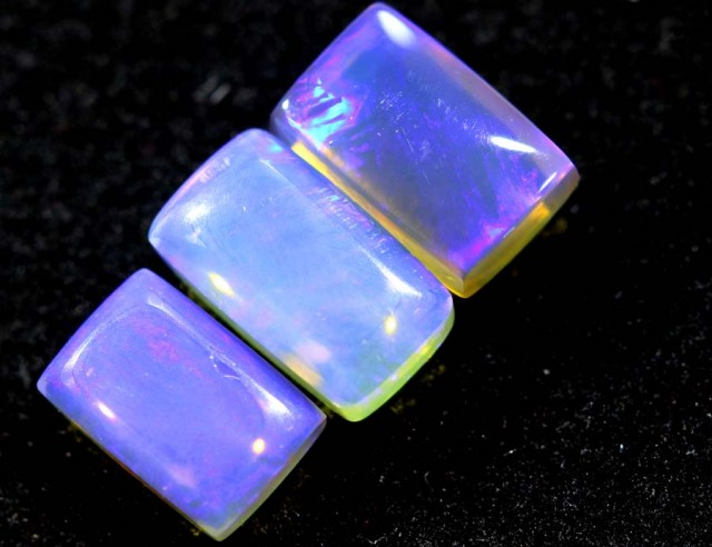 2.10CTS CRYSTAL OPAL PARCEL POLISHED 3PC TBO-6545