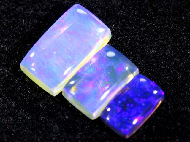 1.55CTS CRYSTAL OPAL PARCEL POLISHED 3PC TBO-6546