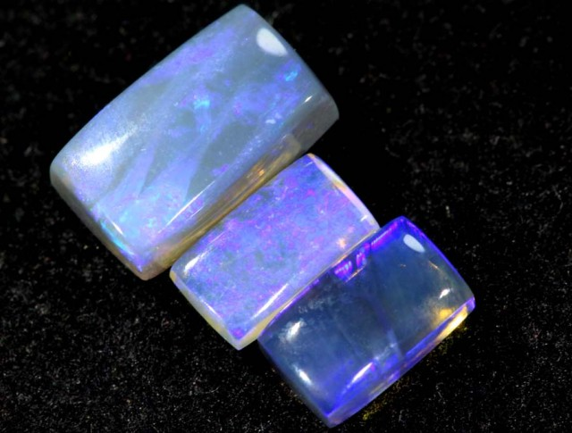 1.45CTS CRYSTAL OPAL PARCEL POLISHED 3PC TBO-6547