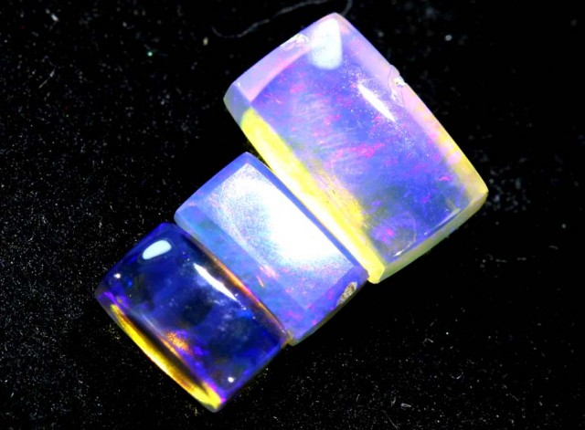 1.45CTS CRYSTAL OPAL PARCEL POLISHED 3PC TBO-6578