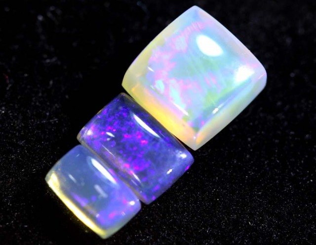 1.95CTS CRYSTAL OPAL POLISHED PARCEL 3PC TBO-6579