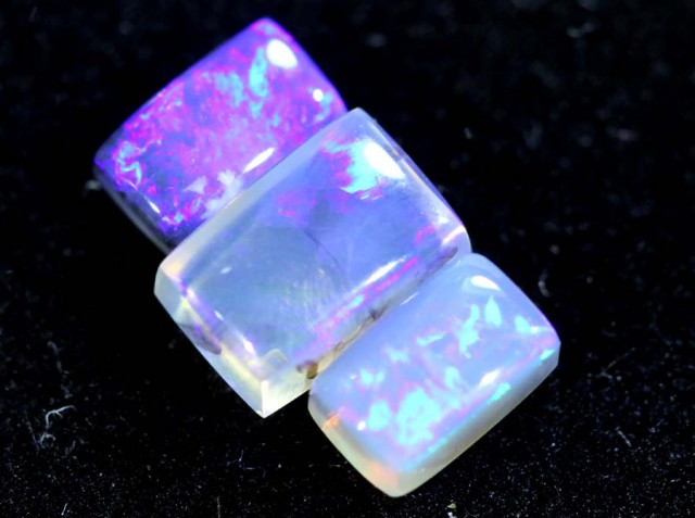 2.30CTS CRYSTAL OPAL POLISHED PARCEL 3PC TBO-6595
