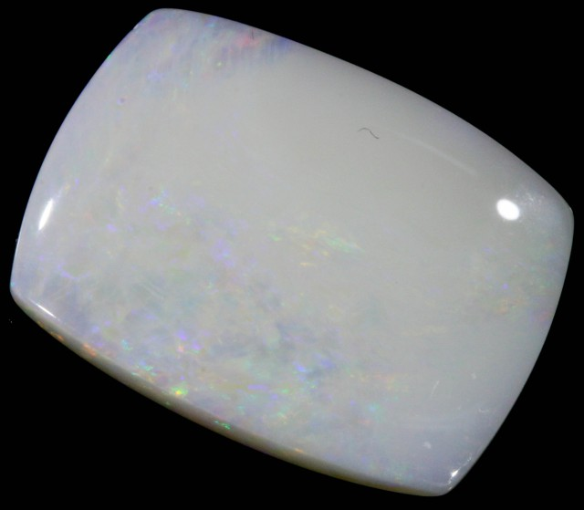 12.32 CTS WHITE FIRE OPAL STONE DEAL [CP2396]