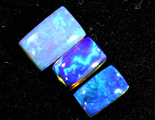 1.35CTS CRYSTAL OPAL PARCEL POLISHED 3PC TBO-6614