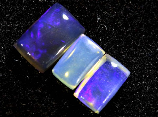 1.05CTS CRYSTAL OPAL PARCEL POLISHED 3PC TBO-6618
