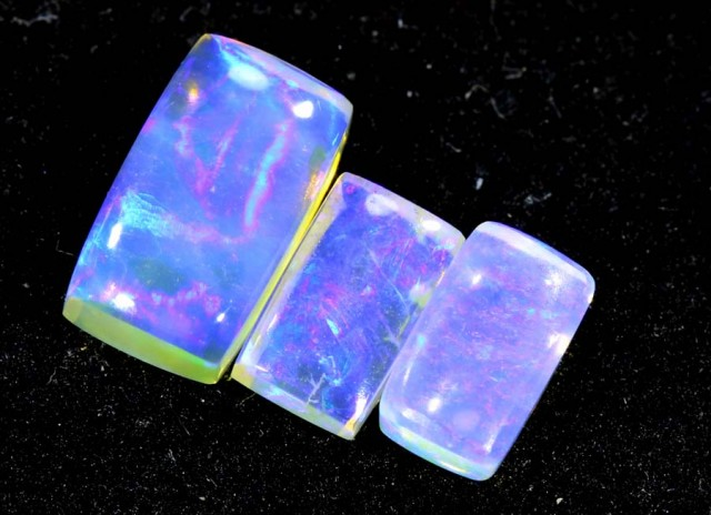 1.35CTS CRYSTAL OPAL PARCEL POLISHED 3PC TBO-6633