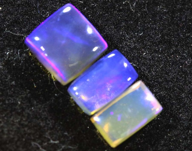 1.15CTS CRYSTAL OPAL PARCEL POLISHED 3PC TBO-6652