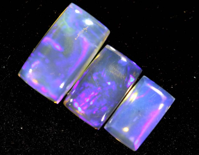 1.35CTS CRYSTAL OPAL PARCEL POLISHED 3PC TBO-6661