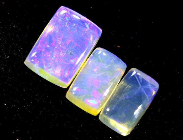 1.20CTS CRYSTAL OPAL PARCEL POLISHED 3PC TBO-6666