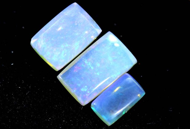 1.35CTS CRYSTAL OPAL PARCEL POLISHED 3PC TBO-6669