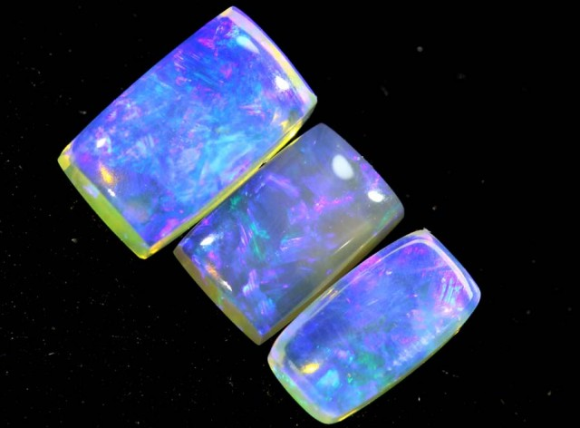 1.30CTS CRYSTAL OPAL PARCEL POLISHED 3PC TBO-6687