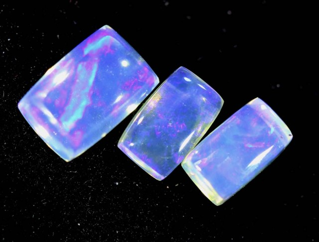 1.35CTS CRYSTAL OPAL PARCEL POLISHED 3PC TBO-6690