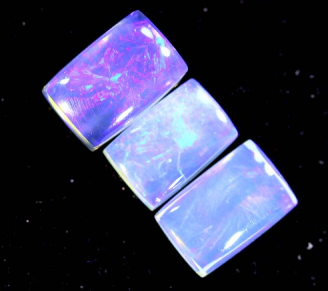 1.50CTS CRYSTAL OPAL PARCEL POLISHED 3PC TBO-6691