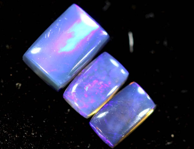 1.25CTS CRYSTAL OPAL PARCEL POLISHED 3PC TBO-6698