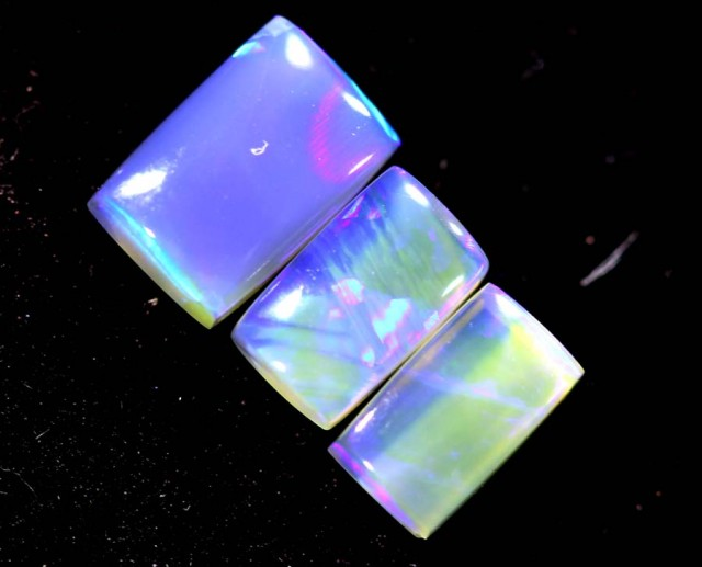 1.10CTS CRYSTAL OPAL PARCEL POLISHED 3PC TBO-7071