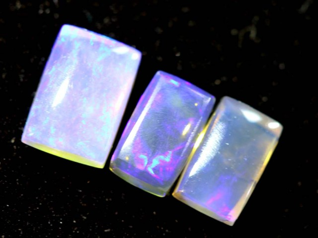 1.00CTS CRYSTAL OPAL PARCEL POLISHED 3PC TBO-7078