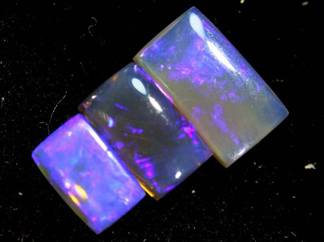 1.30CTS CRYSTAL OPAL PARCEL POLISHED 3PC TBO-7079