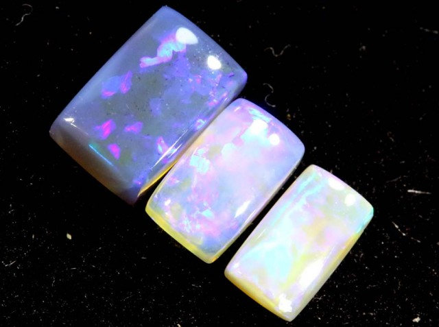 1.20CTS CRYSTAL OPAL PARCEL POLISHED 3PC TBO-7080