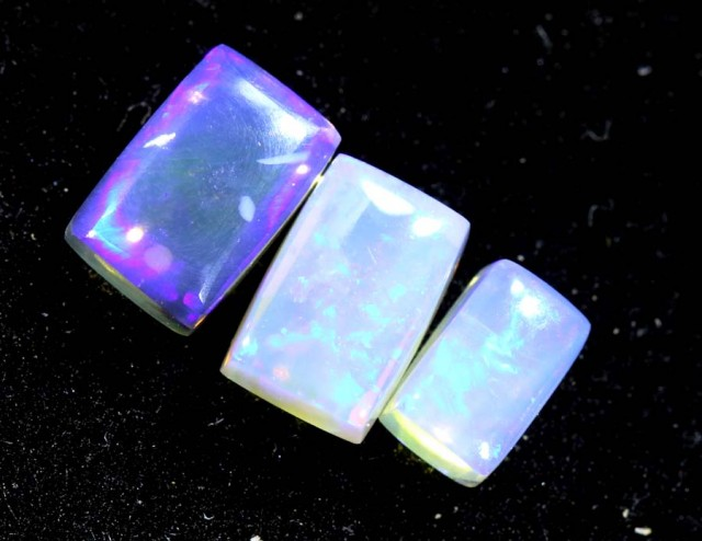 1.80CTS CRYSTAL OPAL PARCEL POLISHED 3PC TBO-6700